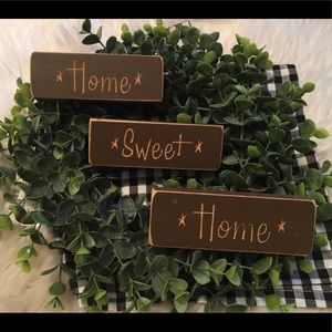 Farmhouse Home Sweet Home 3pc Set